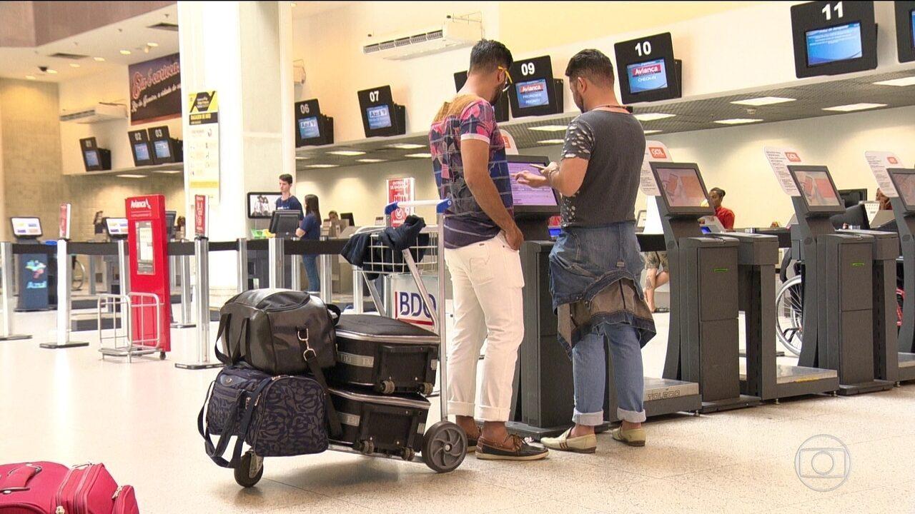Liminar da Justiça Federal suspende novas regras para viagens de avião