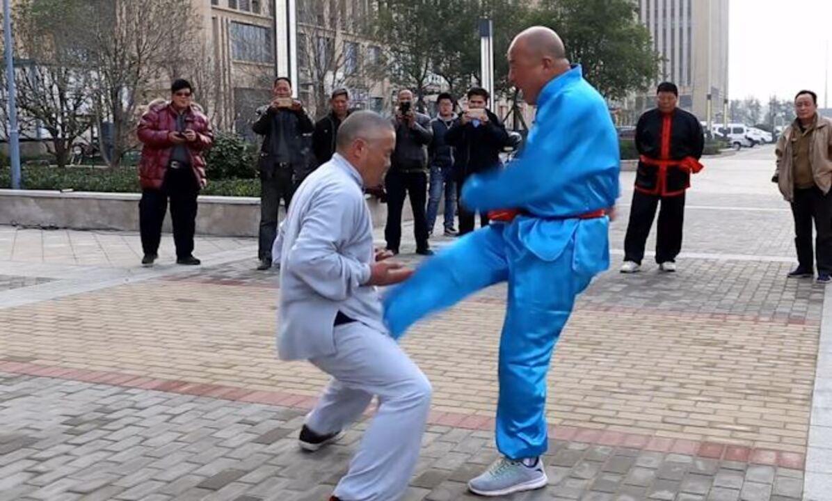 Com 'testículos de aço', chinês leva chutes na virilha sem demonstrar nenhuma dor