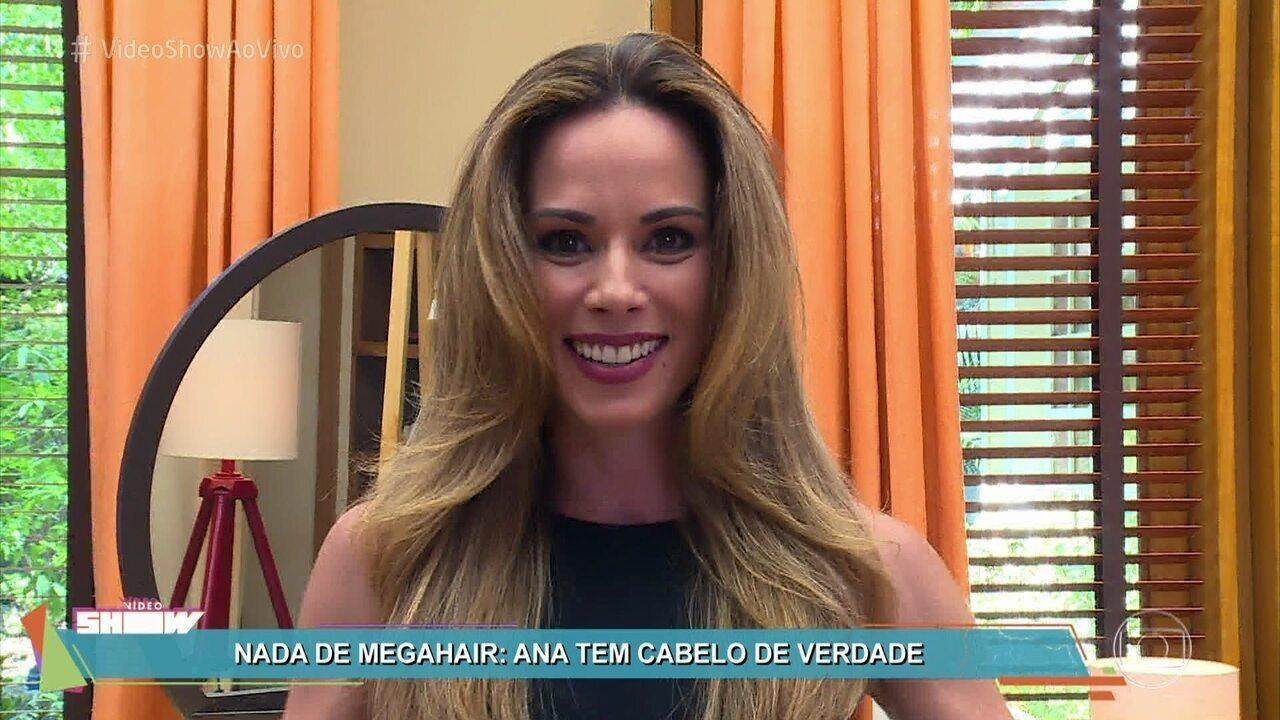 Ana Furtado conta seus segredos de beleza