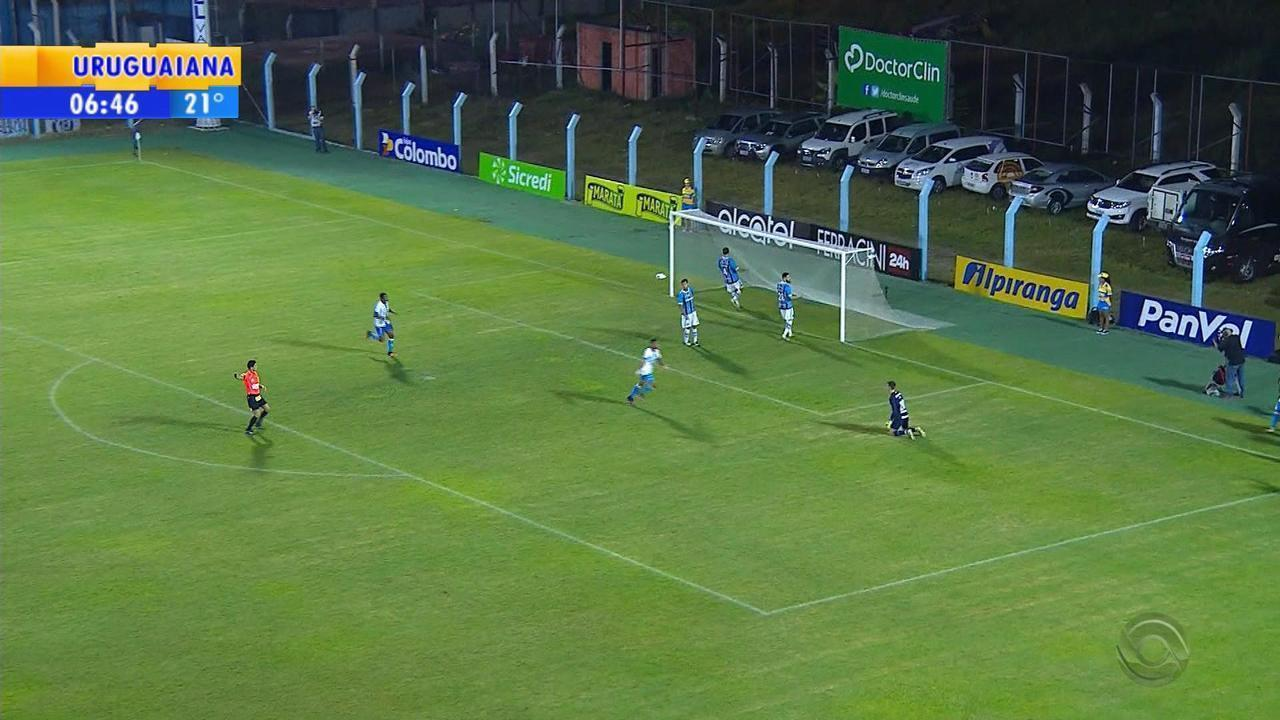 Grêmio empata em 1 a 1 com o Novo Hamburgo no Estádio do Vale