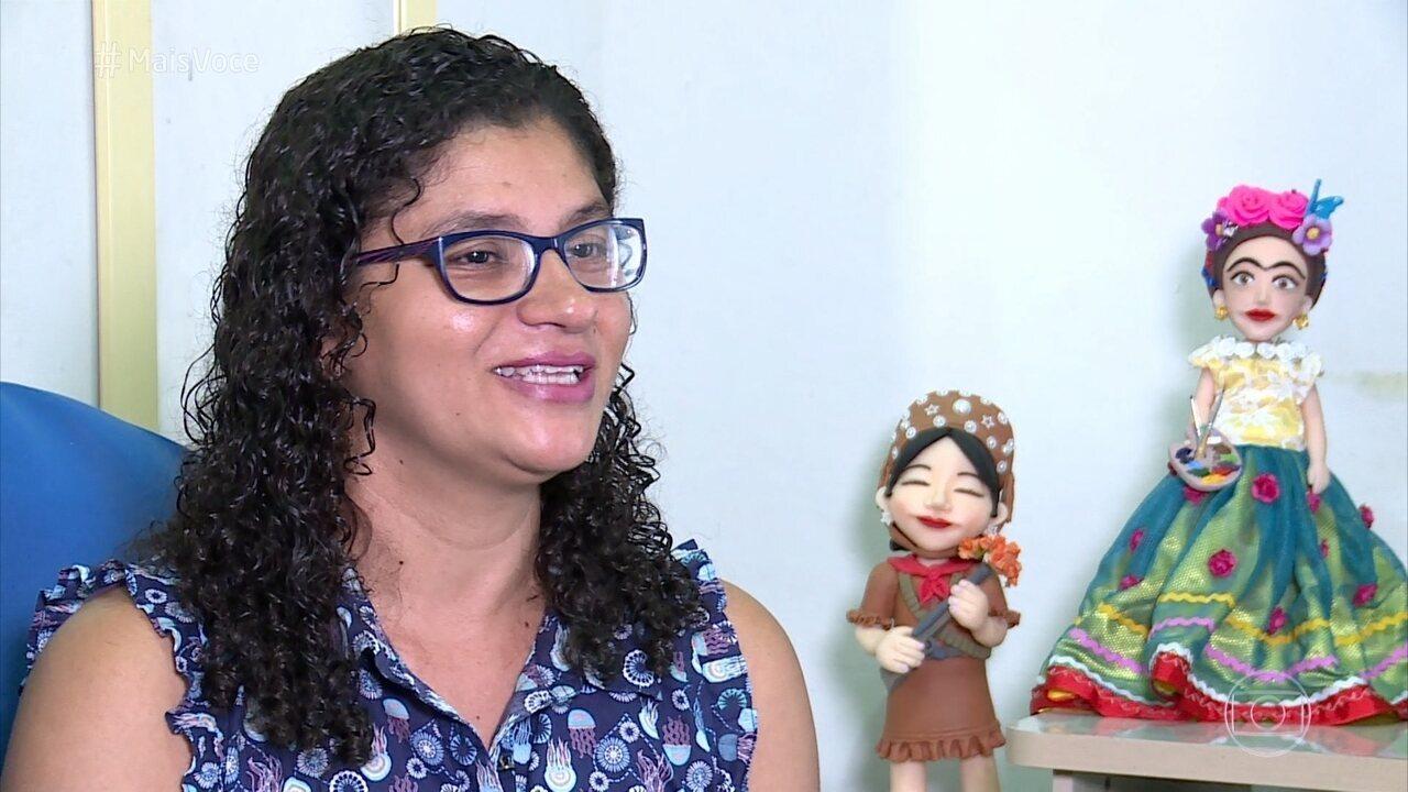 Telespectadora muda de vida com ajudinha do 'Mais Você'