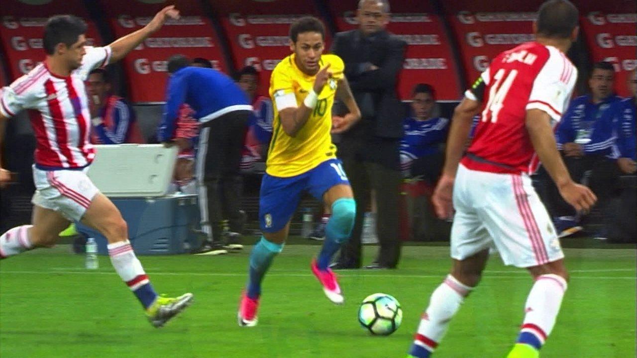 Melhores momentos de Brasil 3x0 Paraguai a74bbf9d05bf4