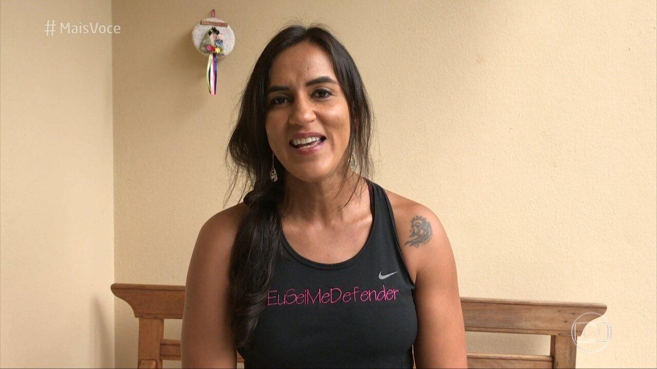 Erica Paes manda mensagem para Paolla Oliveira