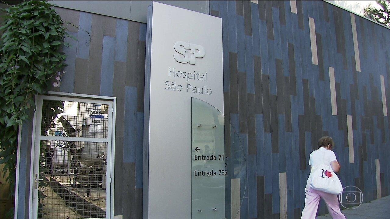 Hospital São Paulo enfrenta crise e decide suspender internações eletivas