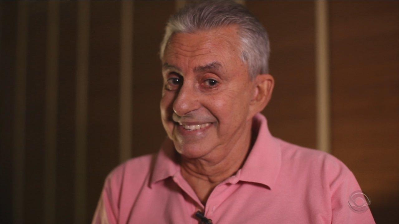 Roberto Alves completa 60 anos de carreira com homenagem no 'JA'