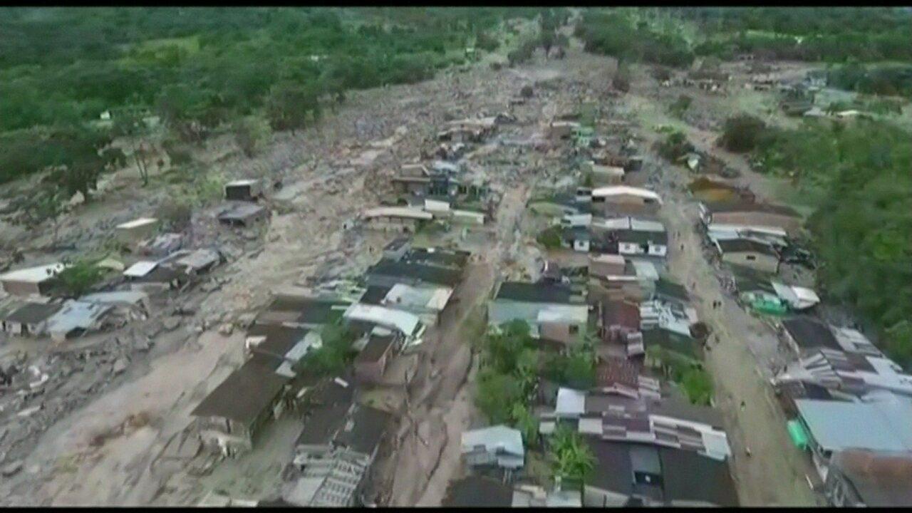 Sobe para 254 o número de mortos em deslizamento após forte chuva na Colômbia