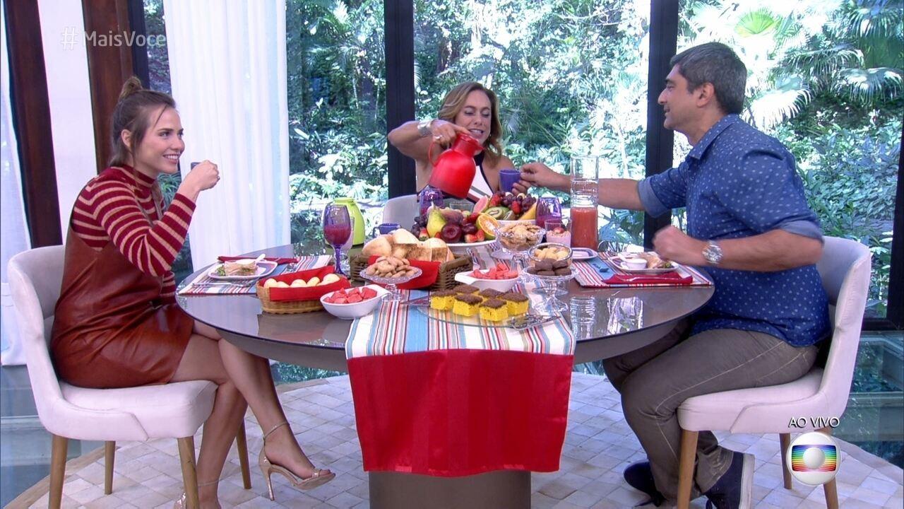 Letícia Colin comemora o sucesso de sua Leopoldina em 'Novo Mundo'