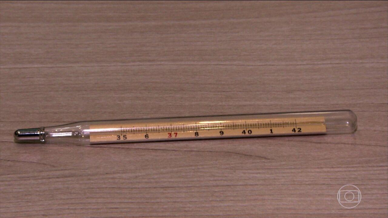 Venda de termômetros de mercúrio deve ser proibida a partir de 2019, no Brasil