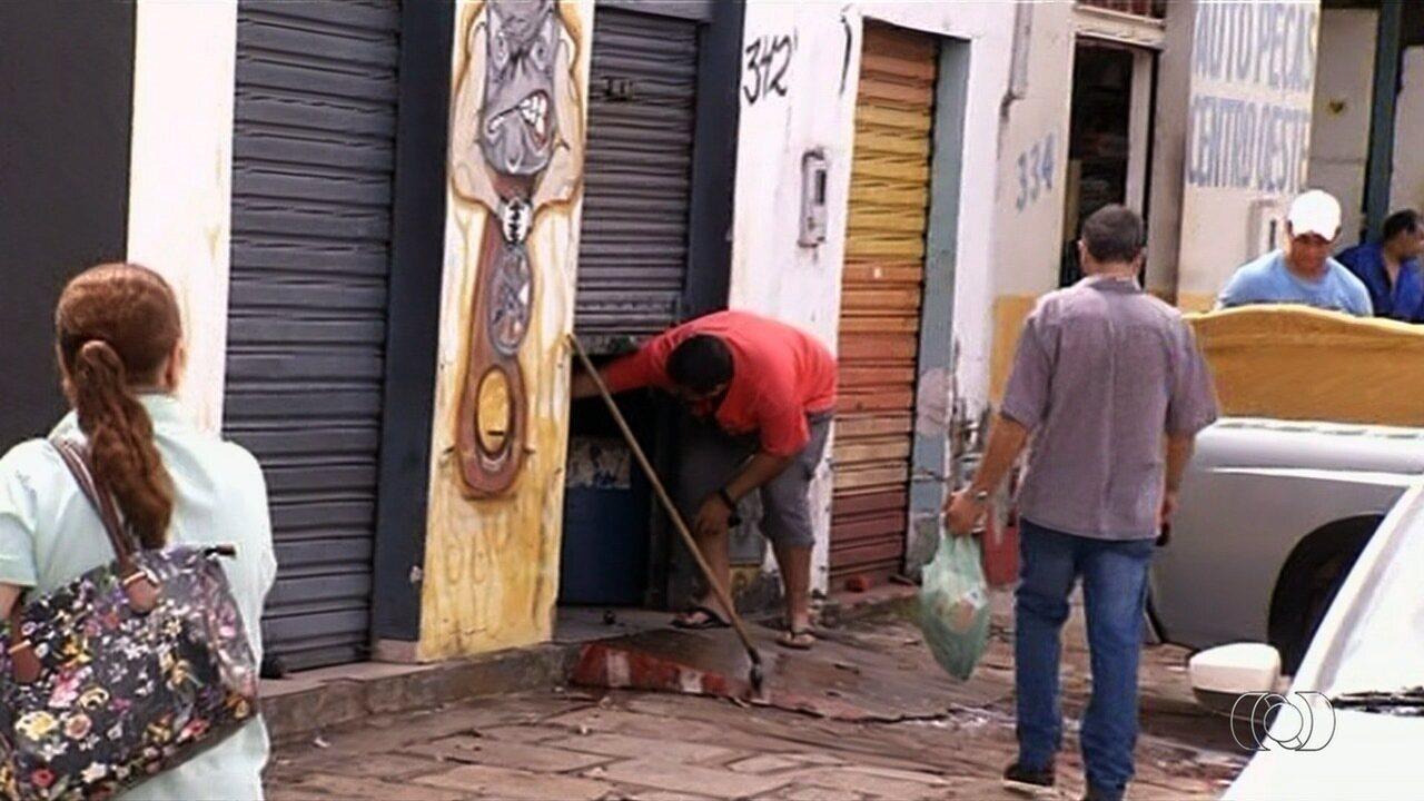Jovem é morta a tiros em borracharia de Anápolis