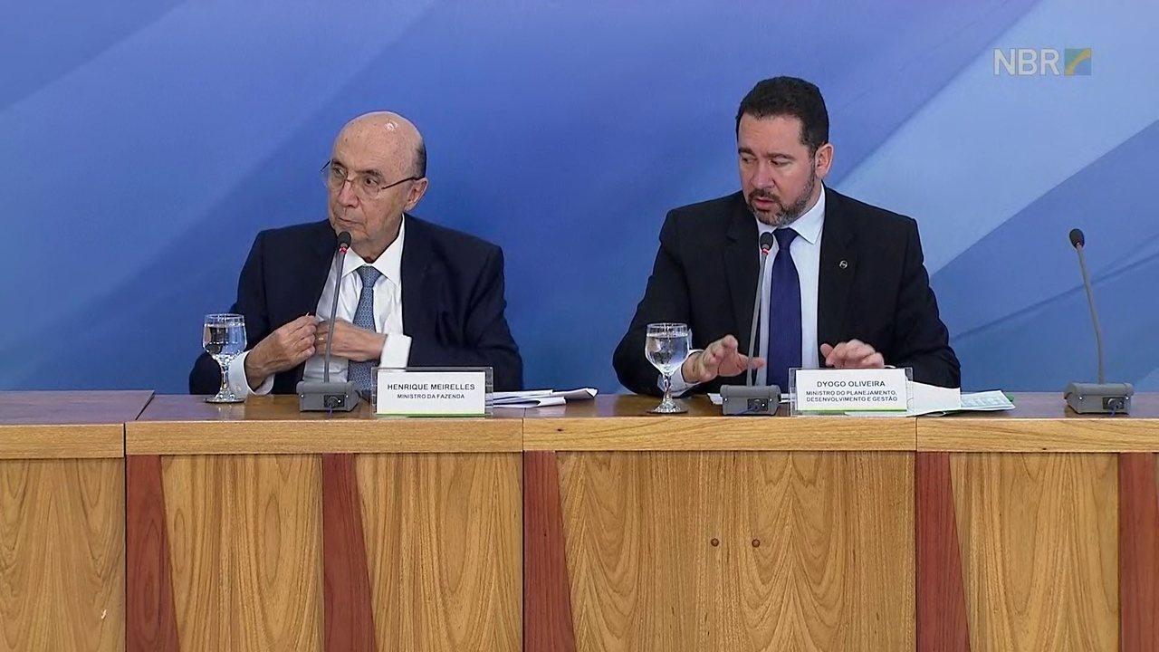 Ministro do Planejamento diz que meta para 2018 é de déficit de R$ 129 bilhões