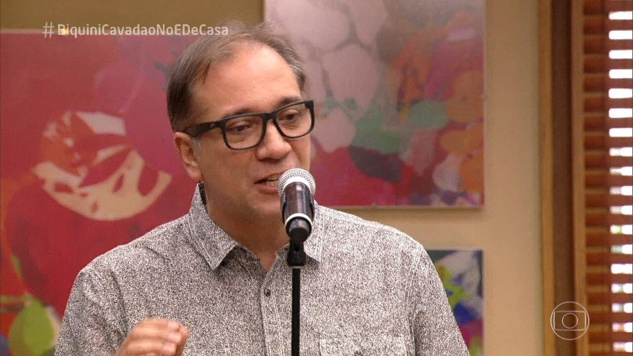 Biquíni Cavadão canta 'Dani' no 'É de Casa'