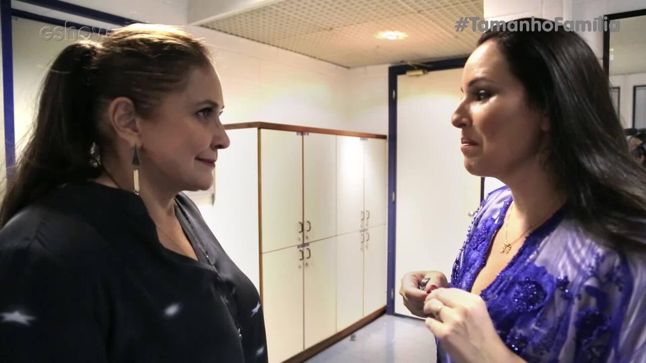 Fafá de Belém e Mariana Belém no Desafio do Riso