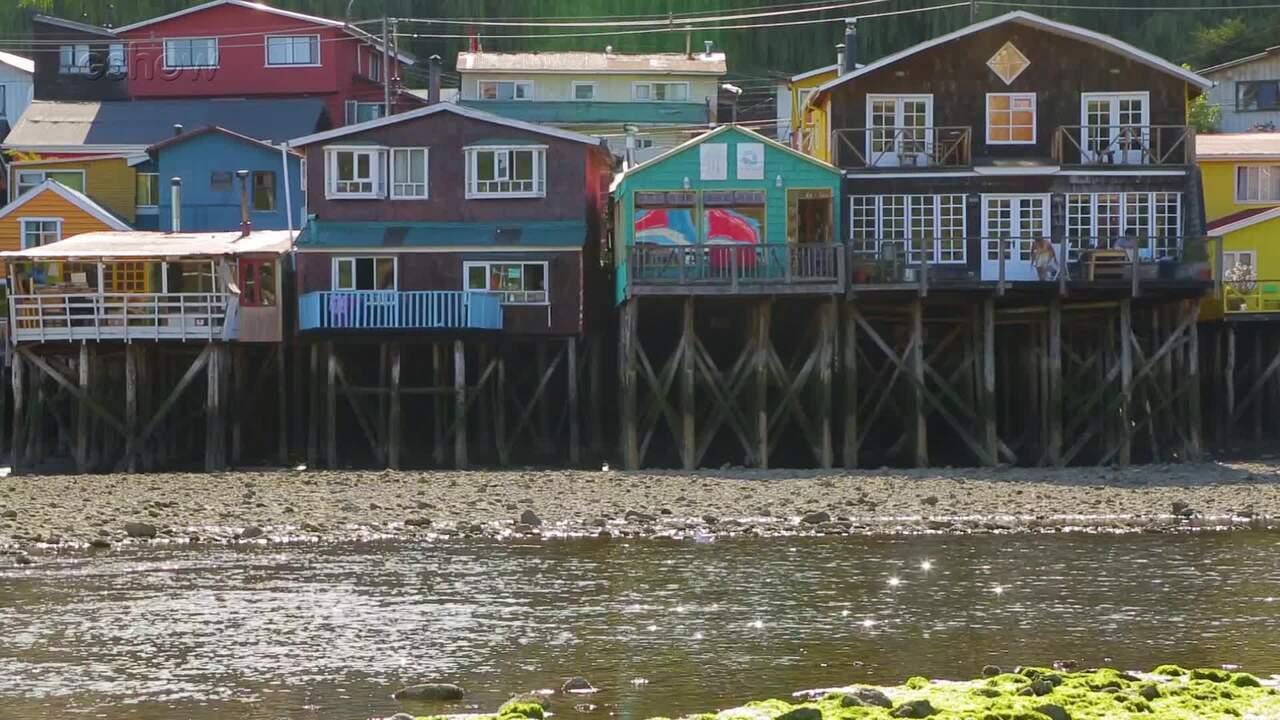Lindas paisagens de Chiloé servem de cenário para Os Dias Eram Assim