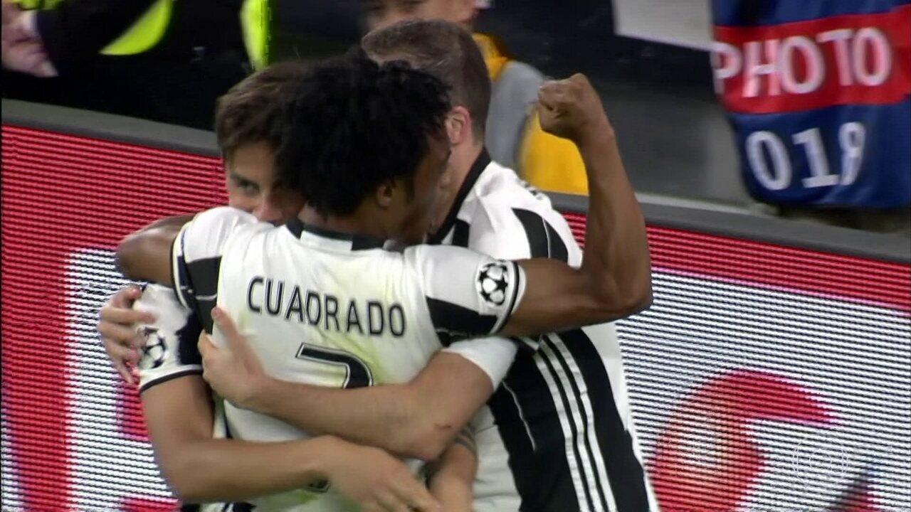 Veja os gols de Juventus 3x0 Barcelona