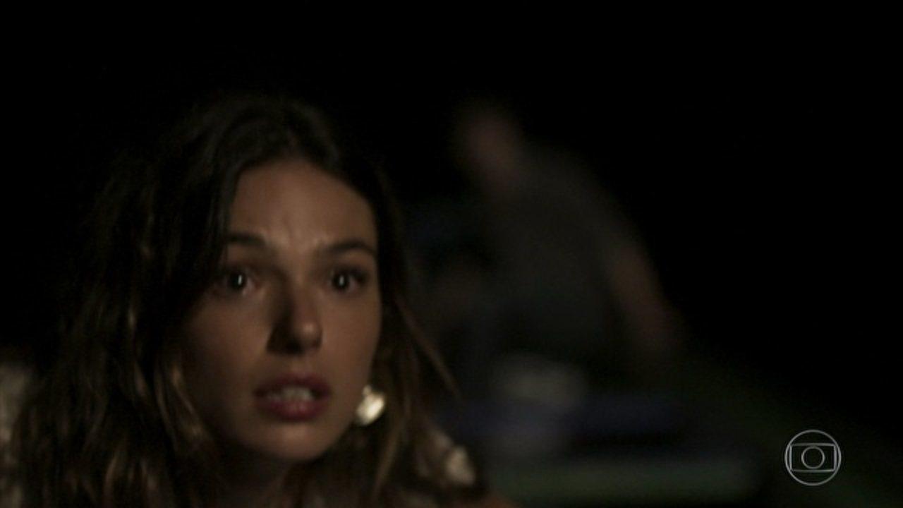 A Força do Querer - Capítulo de sábado, 15/04/2017, na íntegra - Zeca vê Ritinha fugir com Ruy
