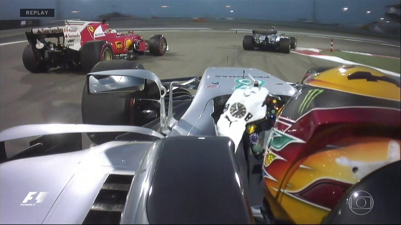 Replay da Largada do GP do Bahrein