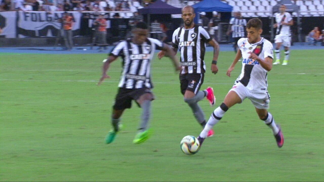 Veja os melhores momentos de Vasco 2 x 0 Botafogo pela final da Taça Rio