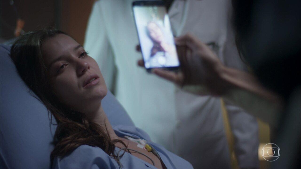 Cena da morte de Lorena emocionou o público