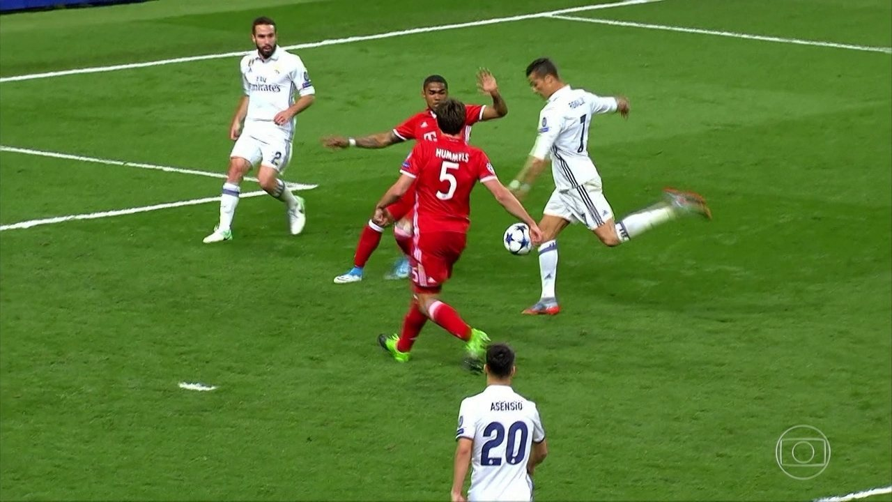 Assista aos melhores momentos de Real Madrid 4 x 2 Bayern de Munique, pela Liga dos Campeões