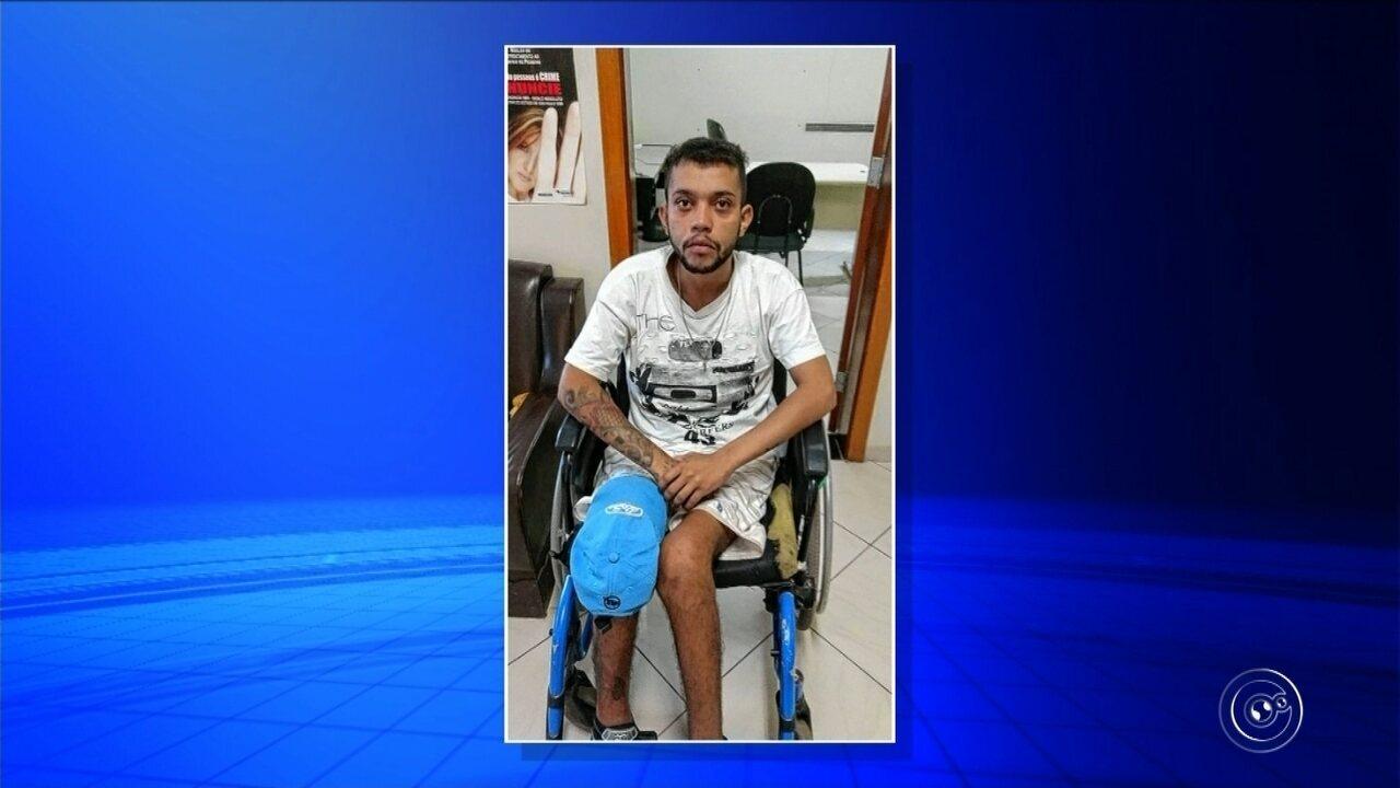 Polícia prende cadeirante suspeito de dirigir carro usado em fuga após assalto em Jundiaí