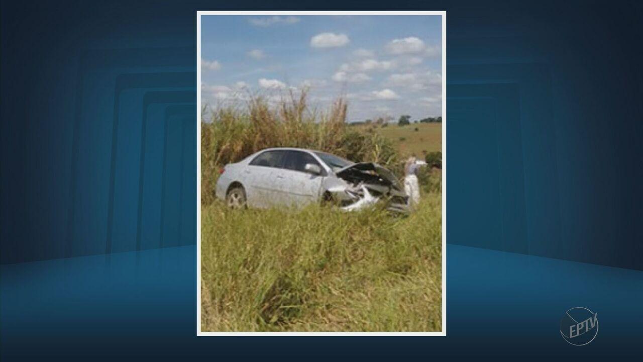 Ex-prefeito de Fama e esposa ficam feridos após acidente na BR-491