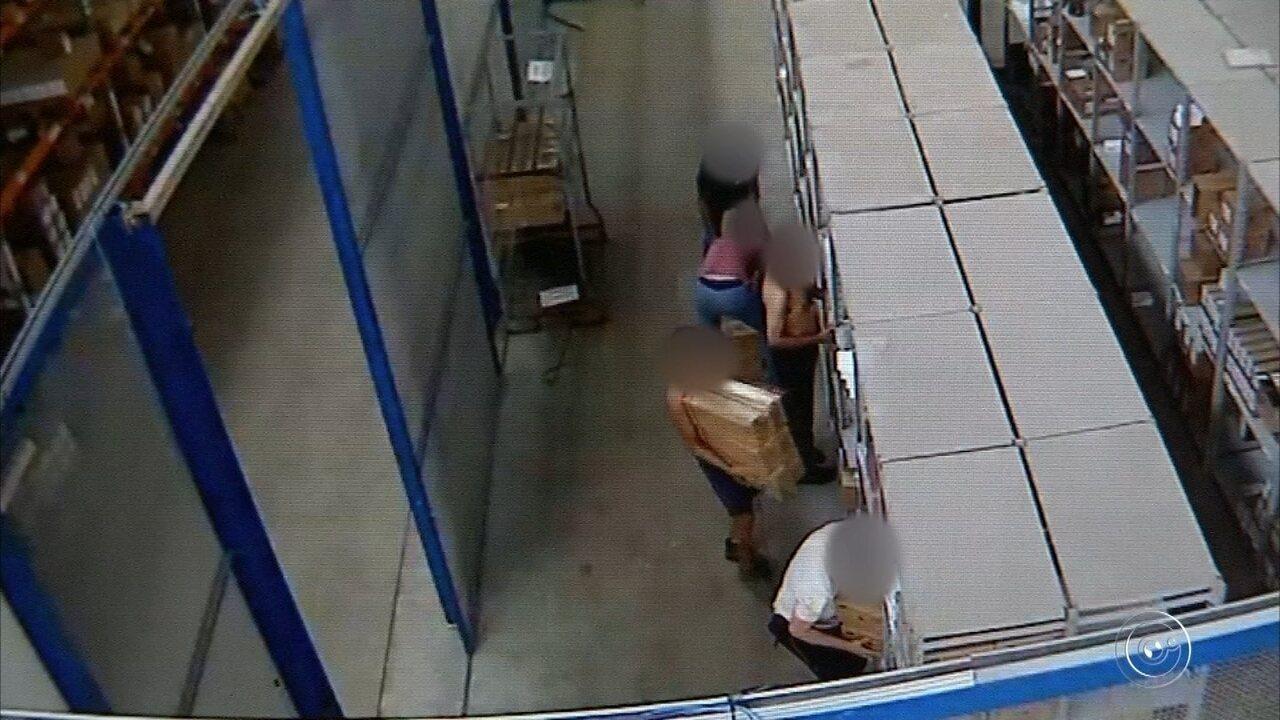 Imagens de câmera de segurança ajudam em investigação de roubo de carga em Jundiaí