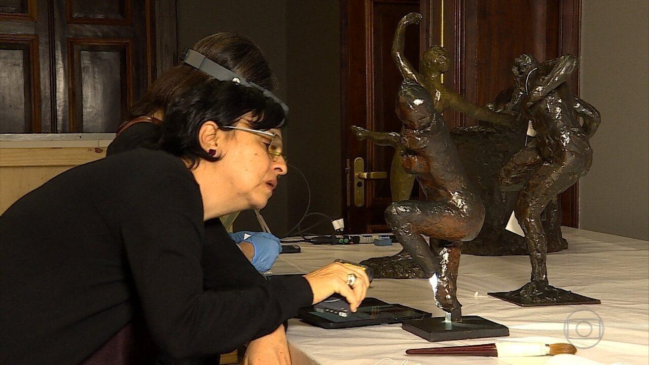 Exposição 'Entre nós' reúne obras de grandes nomes da arte mundial