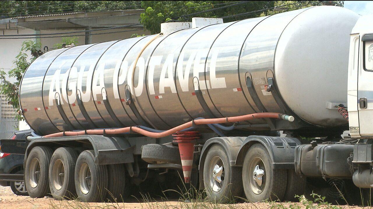 273ce92a8d3 PRF apreende caminhão transportando água de forma irregular em Campina  Grande
