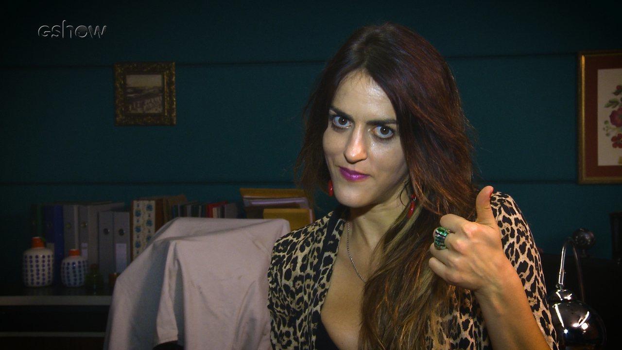 Luciana Paes dá sua opinião sobre conduta de Kika
