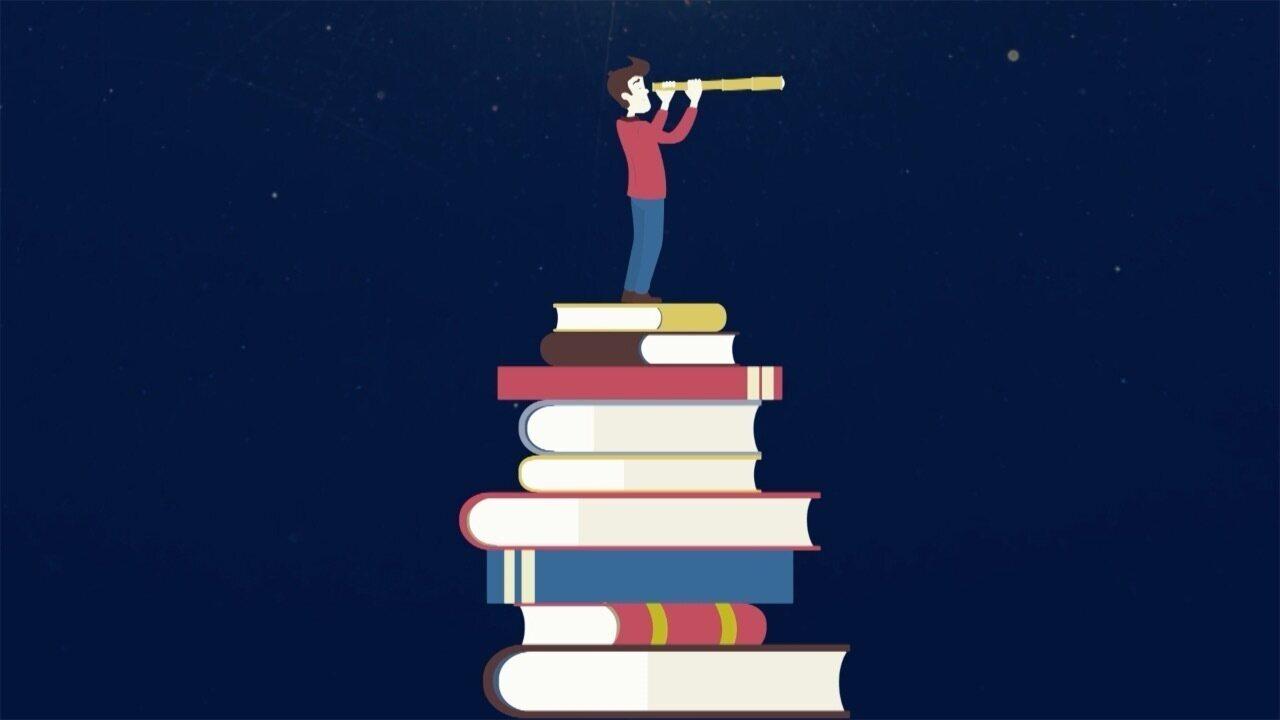 'Pratique a Leitura' está sendo exibido durante a programação da TV Fronteira