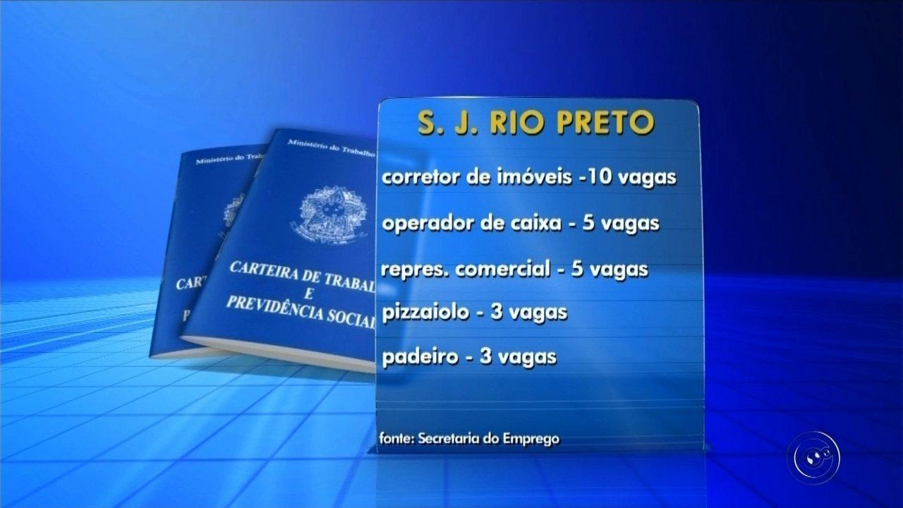 Balc O De Empregos Oferece Quase 80 Vagas De Trabalho Em Rio Preto