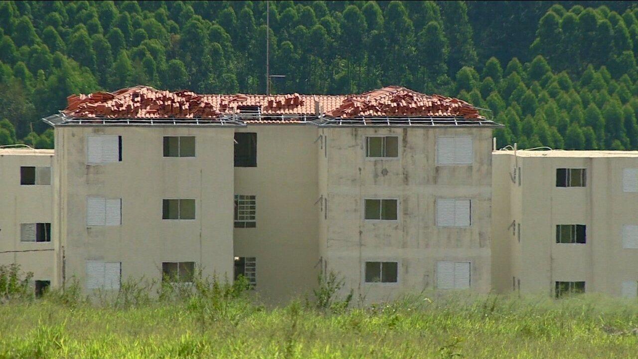 Mais de 30 mil casas e apartamentos do Minha Casa, Minha Vida estão com as obras paradas