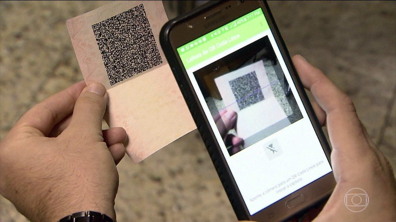 Novas carteiras de habilitação serão emitidas com QR Code