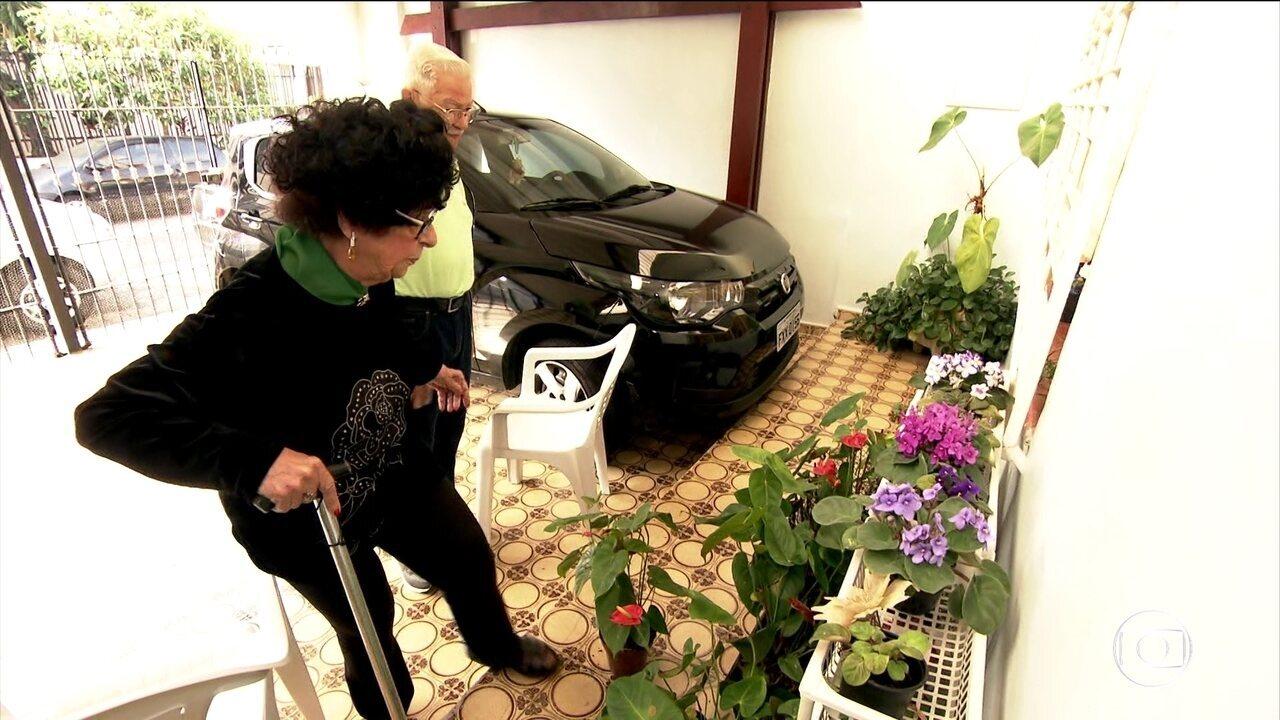 Quedas podem representar a presença de osteoporose em idosos