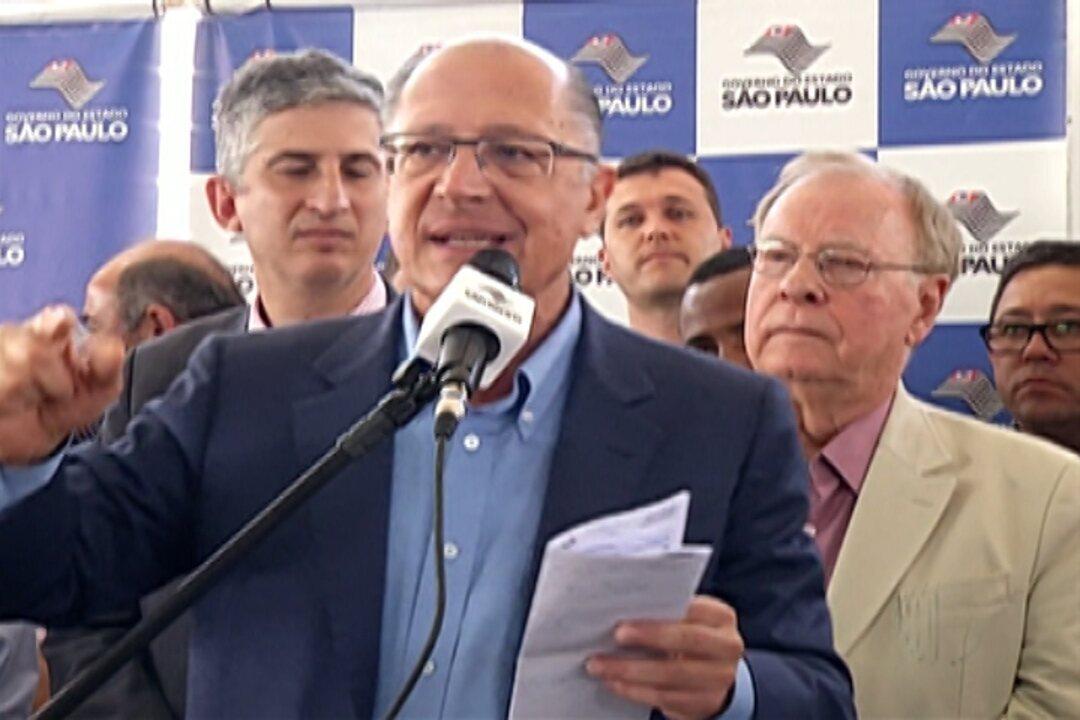 Governador Geraldo Alckmin inaugura setor de oncologia em hospital de Mogi das Cruzes