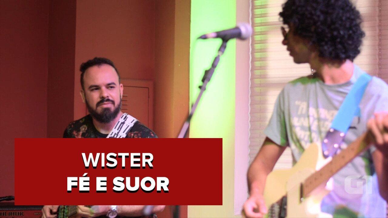 'Fé e Suor' está presente no segundo disco da carreira de Wister