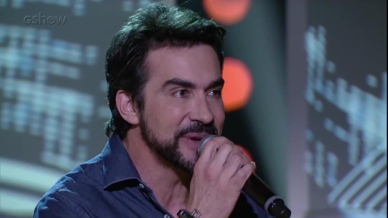 Padre Fábio de Melo canta 'Trem -Bala'