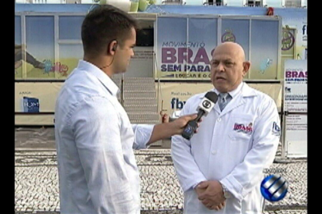 Ação itinerante oferece atendimento médico gratuito em Belém