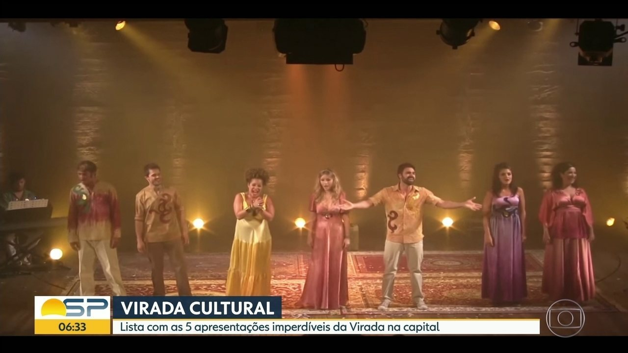 Lista com as 5 apresentações imperdíveis da Virada na capital