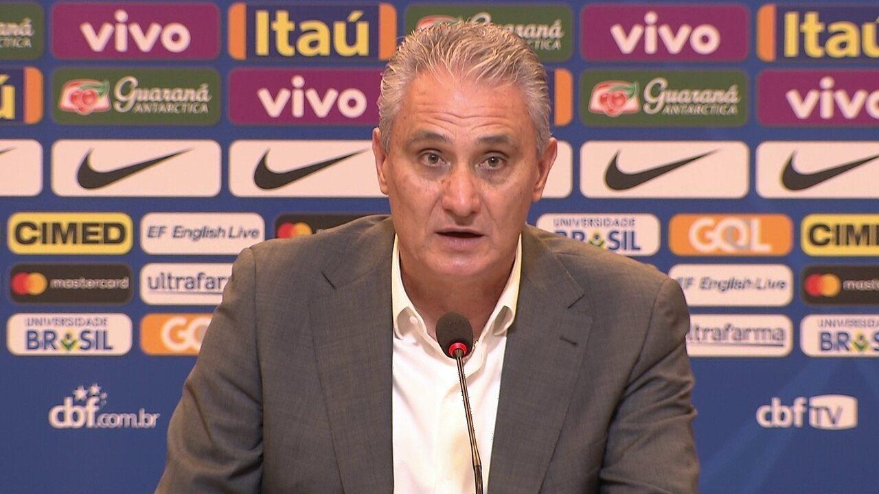 Confira a lista do técnico Tite para dois amistosos da Seleção Brasileira