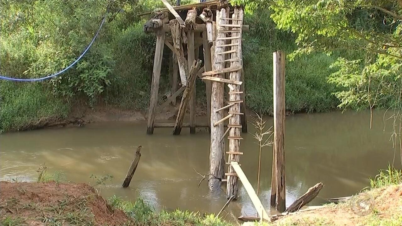 Falta de pontes em bairro rural de Capão Bonito gera prejuízos e 'dor de cabeça'