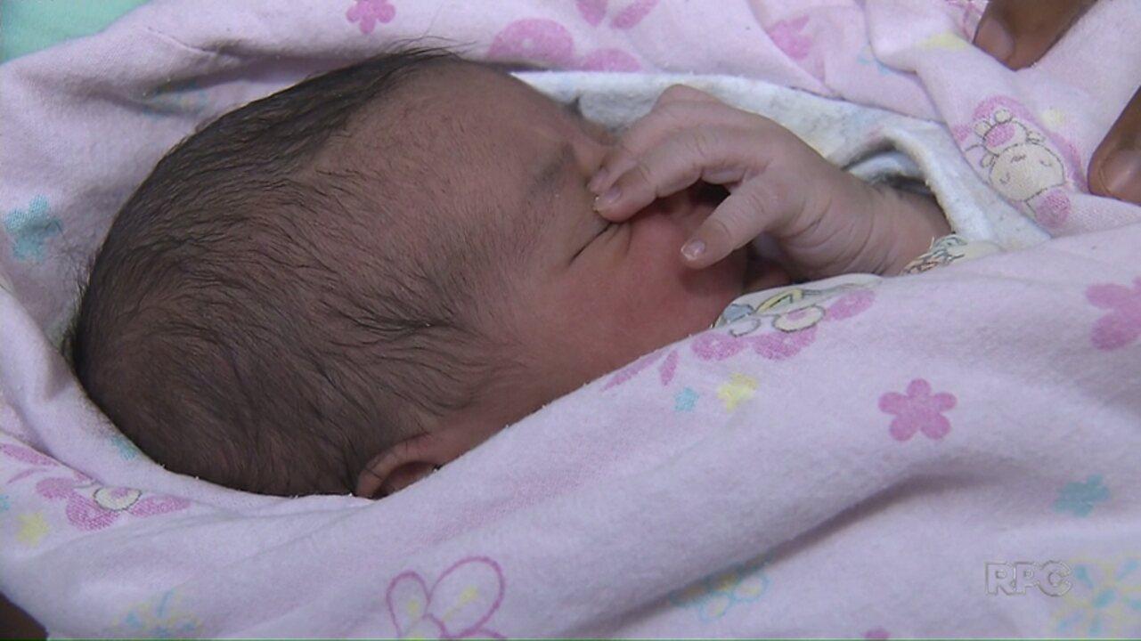 Bebê nasce em ambulância do Samu em Maringá