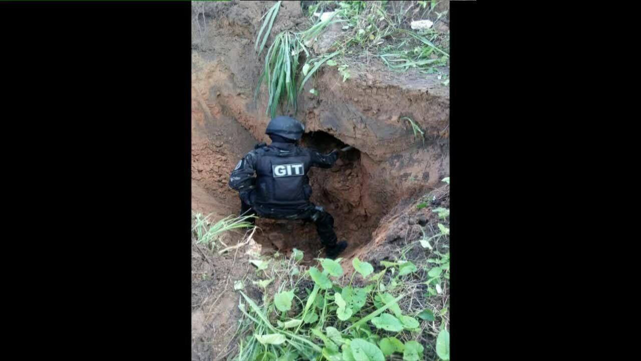 Túnel é encontrado na penitenciária agrícola em Roraima