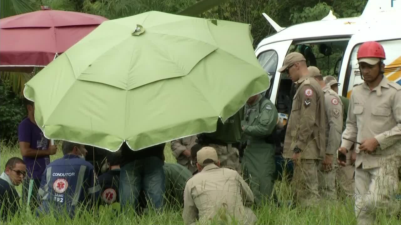 Bombeiro morre após cair de penhasco durante manutenção em tirolesa