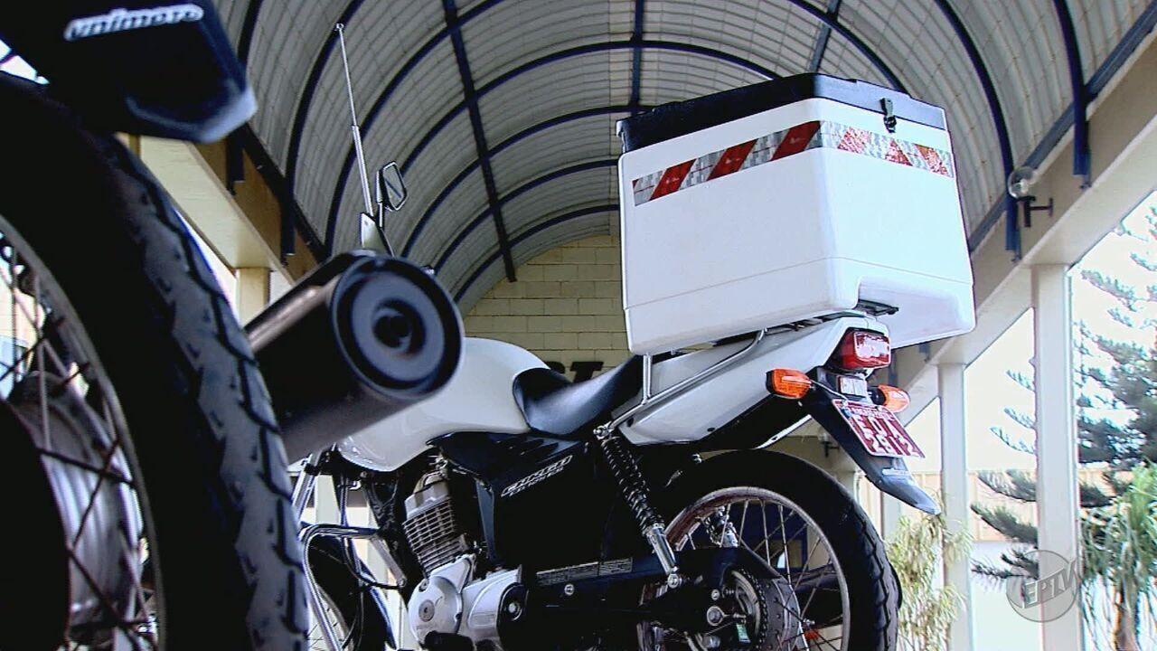 Contran passa a exigir documento para transporte remunerado em motos