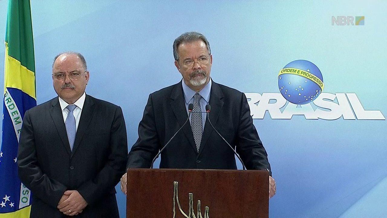 Ministro da Defesa diz que tropas federais foram deslocadas para Esplanada após confronto
