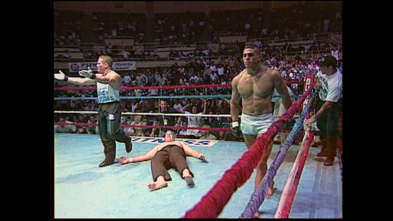 Primeira luta de MMA de Vitor Belfort