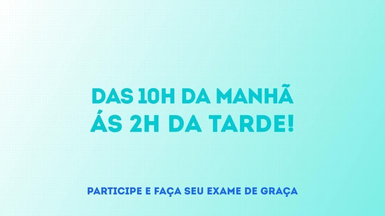 TV Gazeta de Alagoas realiza ação de combate ao Glaucoma