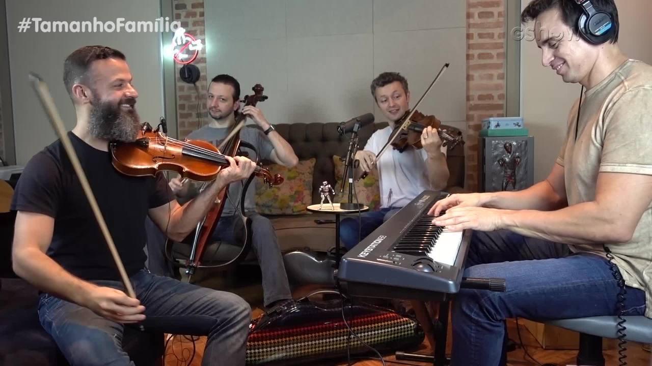 Família Lima toca 'Baile de Favela'