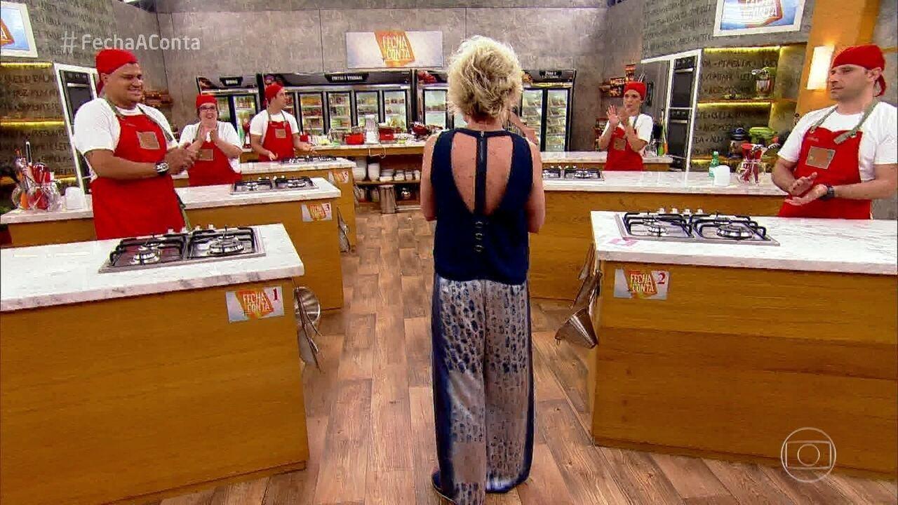 Ana Maria conta quem deixa a competição do 'Fecha a Conta Massas'
